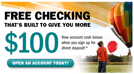 $100 free from bethpage checking