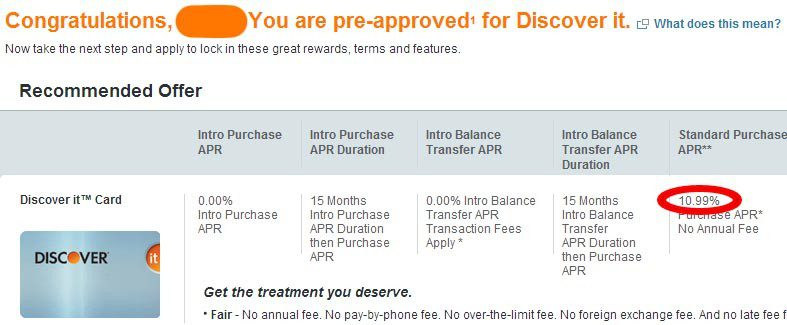 View Your Personalized/Pre-Approved Discover Card Offers - Doctor
