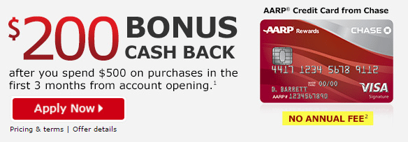 aarp card 200 bonus offer