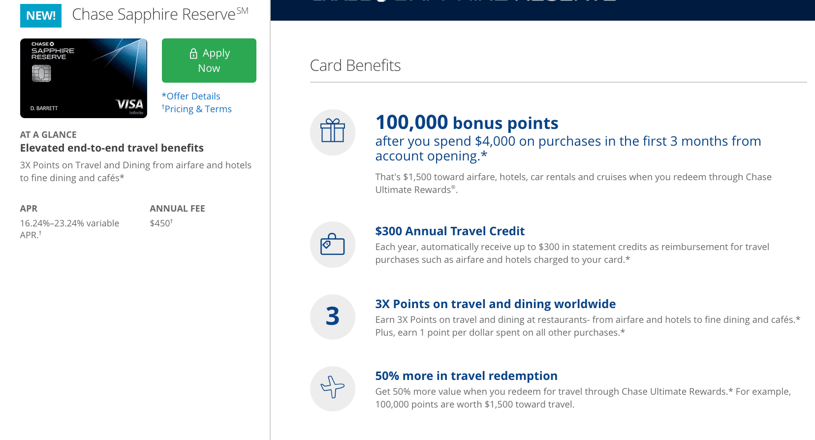 Finally Sapphire Reserve Card Shows Up For Signup On Chase Site Doctor Of Credit