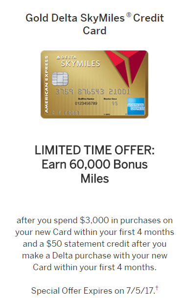 American Express Delta Gold – 14,14 Miles + $14 Statement Credit
