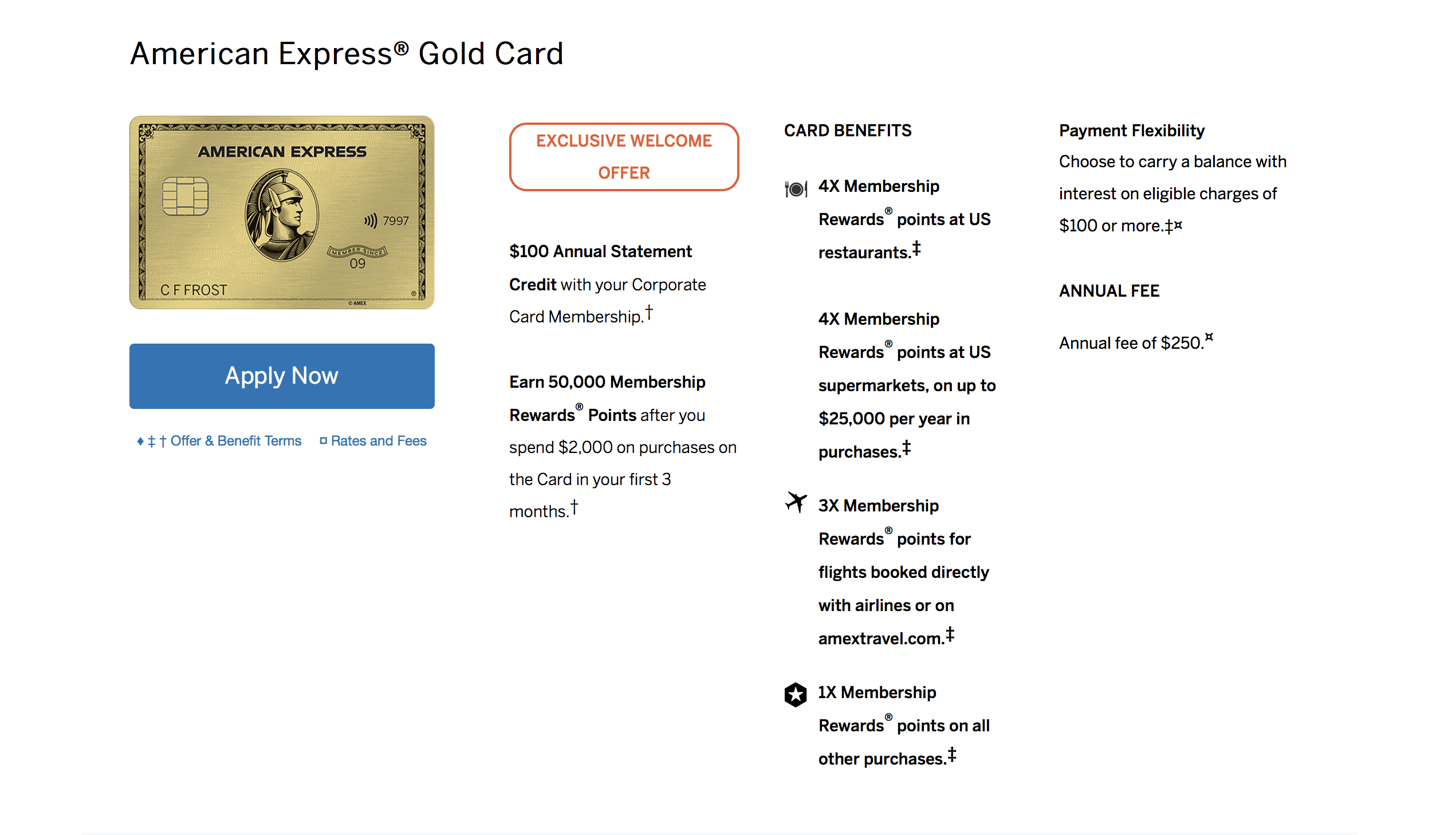 American Express Corporate Advantage Program (Green Card Added