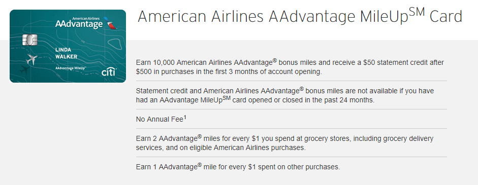 New Citi American Airlines MileUp Card Now Live - Doctor Of Credit