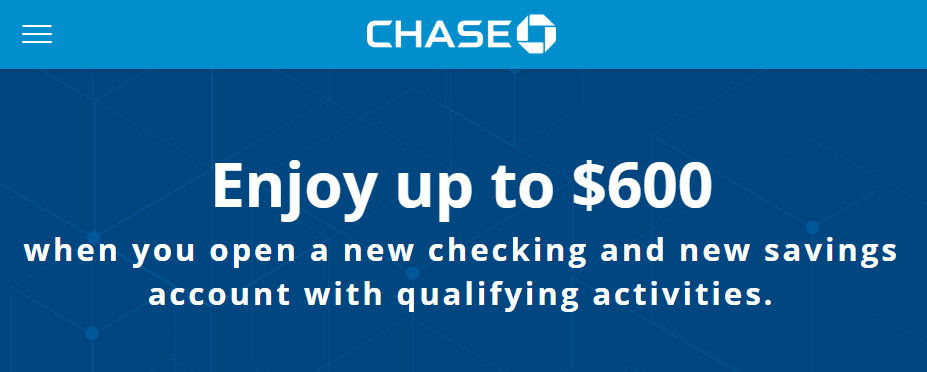 Expired Last Day Public Offer Chase 600 Checking Savings Bonus Available Online Or Branch Doctor Of Credit